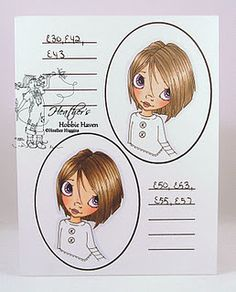 Very cool Copic hair coloring tips from this talented lady!