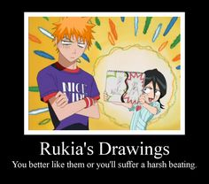 Rukia's Drawings 2 by Puffypaw on deviantART. Her drawings are the best part of any explanation
