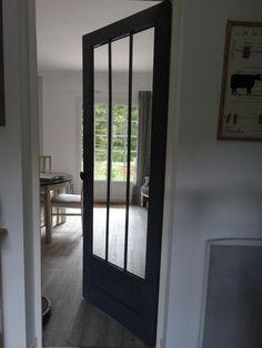 Relooker une porte vitrée petits carreaux