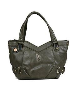 Christian Audigier Womens Margo Shoulder Handbag 3PPU056MOD  List Price: $150.00 Buy Now: $29.99