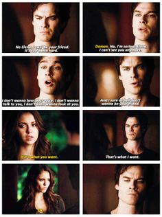 "#TVD 5x18 ""Resident Evil"" - Damon and Elena"