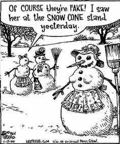 Of course they're fake funny quotes quote winter lol funny quote funny quotes humor snowmen christmas humor Funny Christmas Cartoons, Funny Christmas Pictures, Funny Cartoons, Funny Pictures, Funny Pics, Funny Humor, It's Funny, Hilarious Jokes, Farm Humor