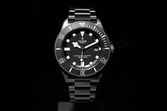 Tudor, the little brother of Rolex, has unveiled a very interesting dive watch at Baselworld - the Pelagos. It not only has all the prerequisites of a good dive watch, it has the a unique bracelet and clasp, the you could argue make it the world's most advanced watch bracelet and clasp. The clasp has a unique spring-loaded self-adjusting system which has been patented by Tudor. The clasp adjusts to the changes in your wrist's thickness, which is especially crucial as the human body go...