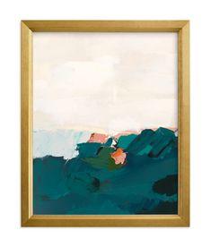 """Coastal Swell"" - Grownup Open Edition Non-custom Art Print by Caryn Owen in beautiful frame options and a variety of sizes. Canvas Art Prints, Canvas Wall Art, Wood Canvas, Entryway Art, Lake Art, Seascape Art, Cross Art, Forest Art, Sun Art"