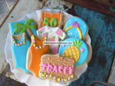 Bambella Cookie Boutique | Fun. Love the flip flop & swimsuit ones the most.