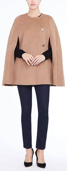 The elegant wool Marta cape #fall2016