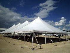 x Genesis rope and pole tent & Rental Tent | Sail Tents | Wallace Events | Event Rentals New ...