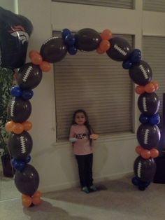 Balloon Football Arch