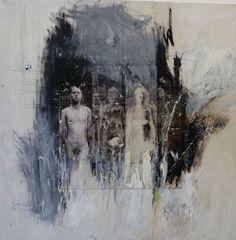 "Saatchi Online Artist: Ulrike Bolenz; Wood 2011 Painting ""."""