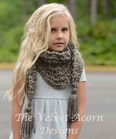 CROCHET PATTERN-The Gatlynn Scarf (Small, Medium, Large sizes)