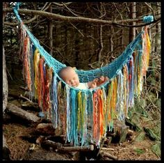 "fringe Baby PHoTO PROP hanging Stork Bed Versatile Hammock Pouch Throw ""BeACH DaY aqua yellow orange grey blue Pick your colors Unigender Hippie Baby, Bohemian Baby, Bohemian Gypsy, Bohemian Fashion, Baby Kind, Baby Love, Baby Pattern, Cradle Bedding, Baby Hammock"