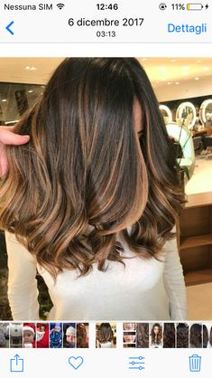 Are you going to balayage hair for the first time and know nothing about this technique? Or already have it and want to try its new type? We've gathered everything you need to know about balayage, check! Medium Hair Styles, Curly Hair Styles, Hair Medium, Medium Long, Cabelo Ombre Hair, Brown Hair Balayage, Balayage Hair Brunette Medium, Hair Bayalage, Brown Hair Colors