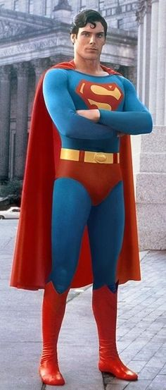 Christopher Reeve is Superman http://8bitnerds.com/christopher-reeve-superman/  <--- Check more
