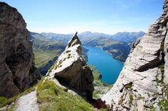 Randonnée au Rochet du Vent (Barrage de Roseland, Savoie)