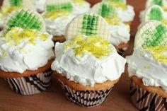 Cupcake de Torta de Limão - Cupcake de Limão - Cupcake - Torta de Limão