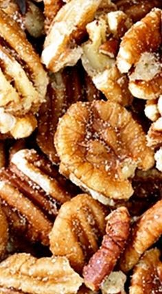 This easy Southern Roasted Pecans Recipe has been passed down for several generations - from over a fire pit to the microwave! Glazed Pecans, Spiced Pecans, Roasted Pecans, Candied Pecans, Appetizer Recipes, Snack Recipes, Cooking Recipes, Snacks, Appetizer Ideas