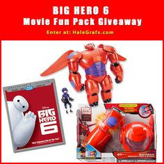 Big Hero 6 Movie Pack, Deluxe Figure Set, Rocket Fist and Mask giveaway