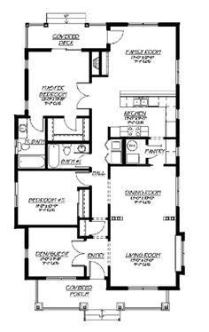 1 besides Future Floor Plans additionally Tiny House Single Floor Plans Bedrooms Bedroo additionally 2 Bedroom House Plans Under 1200 Sq Ft in addition Excel Modular Homes Timber Ridge. on ranch house plans with 5 bedrooms