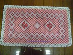Dani Tricotando: Bordado em Tecido Xadrez