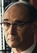 "Actor Mark Rylance as Rudolf Abel in the 'Bridge of Spies' Cold War movie. From ""Bridge of Spies: History vs. Hollywood"" at http://www.historyvshollywood.com/reelfaces/bridge-of-spies/"