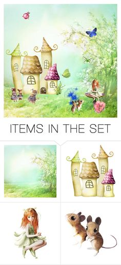 """The Mice Hotel"" by kateo ❤ liked on Polyvore featuring art"