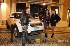 O Art Lx com Triplas Improváveis que apresentam GO Models Lisboa e AutoSueco com RANGE ROVER EVOQUE. Foto de www.danielmergulhao.pt