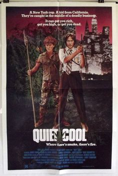 QUIET COOL - JAMES REMAR / DAPHNE ASHBROOK - ORIGINAL AMERICAN 1SHT MOVIE POSTER