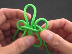 How to Make a Fleur-De-Lis Knot by TIAT