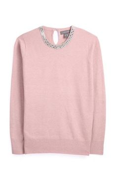 For gorge womens jumpers and sweaters for every look, shop our range. Choose from cute, casual sweatshirts, chunky cable knits and supersoft fine knits. Primark, Bikini Verde, Friends Sweatshirt, High Neck Jumper, Pink Jumper, Cable Knit Jumper, Roll Neck Jumpers, Cute Sweaters, Jumpers For Women