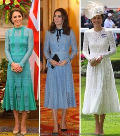 Three Kate Middleton....