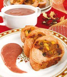 Una deliciosa pechuga de pavo con todos los sabores de Navidad.