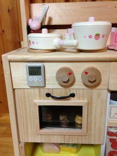 海愛人  はじけよう:本気でままごとキッチンを作ってみた。