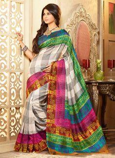 Refreshing Kumud Art Silk Saree