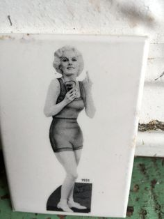 Vintage Pocket Mirror 1930's Jean Harlow Coca Cola Ad Pin Up Sexy by Holliezhobbiez on Etsy