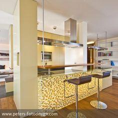 Loft O  Planungsbüro: Innenarchitektur-Rathke.de  Die Lage der Wohnung im Dachgeschoss ermöglicht ein Abtauchen aus der Hektik des Alltags in eine Welt…