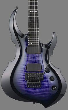 GuitarQueue - 2014 ESP E-II FRX Flamed Maple Reindeer Blue Electric Guitar, $1,999.00 (http://guitarqueue.com/2014-esp-e-ii-frx-flamed-maple-reindeer-blue-electric-guitar/)