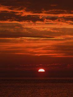 sunset  Rimouski, Québec  Canada