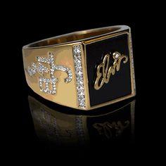 Elvis Presley TCB Ring
