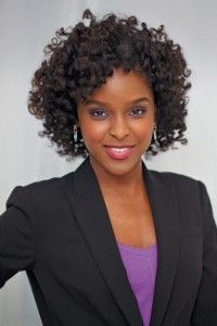 Natural hairstyle for office