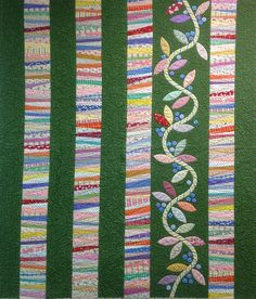 Beautiful string quilting! http://www.arlingtonquiltingbarn.com/images/string-quilt.jpg