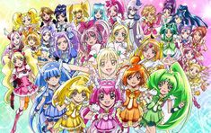 Poster for the movie Pretty Cure All Stars New Stage: Mirai no Tomodachi <3