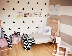 / Triangle Wall Sticker Decal
