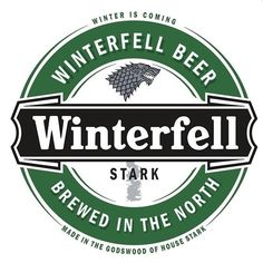 Game of Thones beer labels - so sweet.