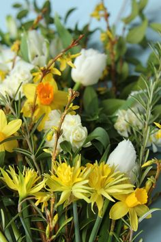 Flowers and foliage available in March at My Flower Patch.