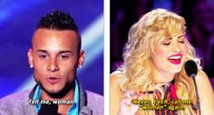 Preach, Demi!>>YEAH THAT GUY ON X FACTOR THIS YEAR WHAT A SPAZ!!!