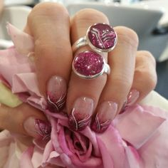 Nails whit rings