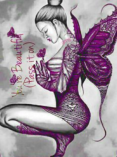 Butterfly Art by on DeviantArt Beautiful Dark Art, Beautiful Fairies, Elfen Tattoo, Elfen Fantasy, Fairy Drawings, Gothic Fantasy Art, Fairy Tattoo Designs, Fairy Pictures, Butterfly Fairy