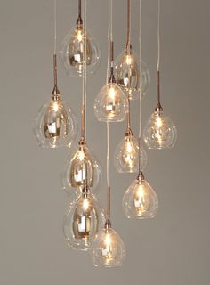 Carmella 10 light cluster - BHS  Pendant over the kitchen island?