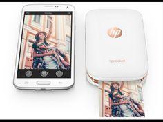 HP Sprocket: una impresora de bolsillo sin tinta para imprimir desde el móvil