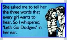 @Dodgers baseball = LOVE